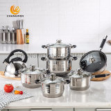 14PCS Stainless Steel Cookware Set for Home Appliance