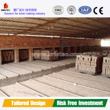 Clay Bricks Tunnel Dryer Design and Construction with Video