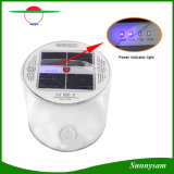 Waterproof Transparent PVC 10LED Rechargeable Inflatable Solar Lantern Inflation Solar Camping Light Emergency Lamp