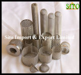 Stainless Steel Plain Woven Wire Mesh for Cap Type Filter
