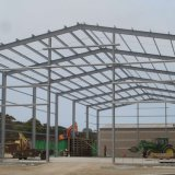 Prefabricated Light Steel Construction Building for Glass Product Workshop