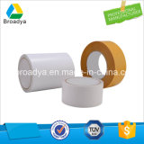 80mic Water Adhesive Double Sided Tissue Tape Jumbo Roll (DTW-08)