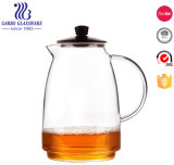 1000ml (GB631081070) Glass Borocilicate Tea Pot Set Custom Available