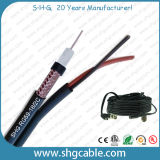 UL ETL Rated USA Standard CCTV Rg59 95% Coaxial Cable