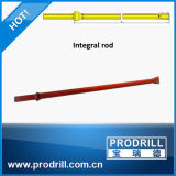 Plug Hole Chisel Bit Integral Drill Rod Steel