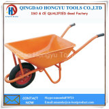 58L Metal Tray Pneumatic Tyre Wheel Barrows