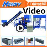 Qt4-20 Automatic Cement Brick Making Machine, Concrete Hollow Paver Block Making Machine in Construction Machinery