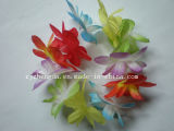 Plastic Flower Hawaiian Tropical Luau Lei Party