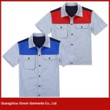 Wholesale Fashion Design Cheap Cotton Polyester Working Wear Manufacturer (W115)