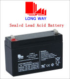 4V4.5ah Lead Acid Battery Used for LED Lighting