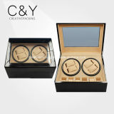 Black Glossy Lacquered Wood Watch Winder