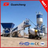 Mobile Movable Concrete Mixing Station with 50m3/H