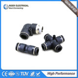 Pneumatic Air Water Connector Quick Threaded Plastic Pipe Fitting