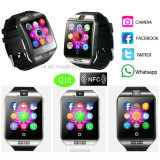 Mobile Wristwatch Bluetooth Smart Watch with SIM Card-Slot Q18