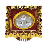 Hotel LED Downlight with Brass Panel