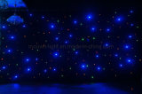 DMX Wedding Stage LED Star Light Backdrop Curtain