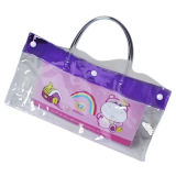 PVC Stationery Bag With Handle