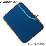 2018 New Multi-Functional Neoprene Zippered Bag for iPad Tablets (Blue)
