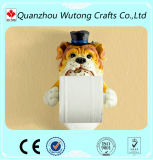 Resin Decoration Animal Statue Toilet Paper Holder