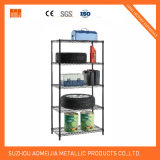 "6 Tier NSF Stationary Epoxy Wire Shelf - 86"" High From China Changshu Manufacturer"