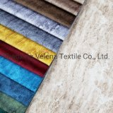 Hot Sale Holland Velvet Original Dyeing and Printing with Emboss Warp Knitting Textile Fabrics for Furniture Fabric