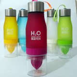 650ml Infuser Water Bottle Plastic Fruit Infusion Kids Drink Outdoor Sports Bottle Juice Lemon Portable Kettle