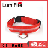 Adjustable Necklace Safety Nylon LED Glowing Dog Collar for Pet Dogs