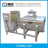 Sanitary Stainless Steel Milk Cooling Tank with Mixer