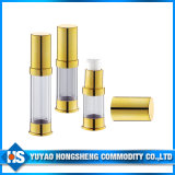 Gold Reasonable Price Aluminium Bottle with Lotion Pump