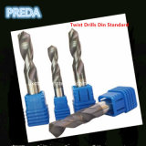 CNC Tungsten DIN Standard Solid Carbide Twist Drills