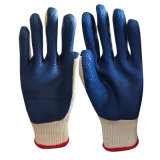 Factory Price Wholesale Mechanical Anti Oil Resistant 10 Gauge Cotton Knitted Rubber Latex Film Laminate Work Gloves