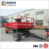 10ton Side Tipping Trailer Mounted on 80-100 Horse Power Tractor