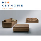 Genuine Leather Sofa for Home Furniture with 1+2+3 Seater