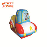 Arcade Amusement Swing Rides Cartoon Police Car with MP4 in Shopping Mall (K113)