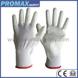 ESD Nylon PU Coated Anti Static Work Gloves with Ce Certificate