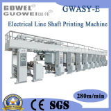 Automatic High Speed Electrical Shaft Plastic Machine for Film (GWASY-E)
