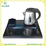 Stainless Steel Electric Kettle Welcome Tray Set for Hotel