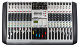 16 Channels Input LCD Display Professional Audio Mixer Hx 16