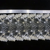 Fashion Garment Accessory Yarn Embroidery Lace Fabric Decoration Textile Wholesale