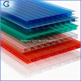 10mm 100% Virgin UV Coated Twin-Wall Polycarbonate Hollow Sheet