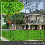 Decorative Cheap Artificial Boxwood Hedge Fence