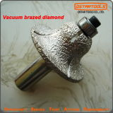 Vacuum Brazed Diamond Profile Wheels Engraving Router Bit for Granite