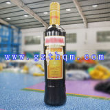 Giant Inflatable Advertising Bottle Model/Inflatable Advertising Bottle Model for Display
