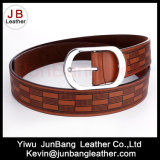 Newest Men′s PU Embossed Belt