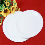 White Colour Porcelain Ceramic Dinner Plates