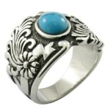 Custom Turquoise Stone Men Ring