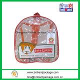 Fashion Popular Clear PVC Kids Backpack School Bag