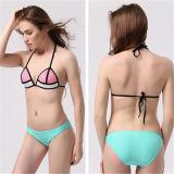 Sexy Colorful Triangle Mesh Bikini Set (53035)