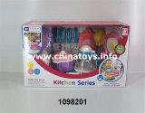 Gift Toy Children Plastic Kitchen Cooking Set Toy (1098201)