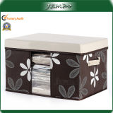 Printed Covered Big Household Storage Bins with Handle